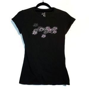 Vintage Black Signature Rockwell Time T Shirt